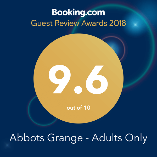 Booking.com Guest Award 2018 9.6 rating