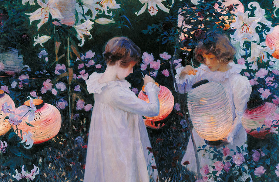 Sargent carnation lily rose painting