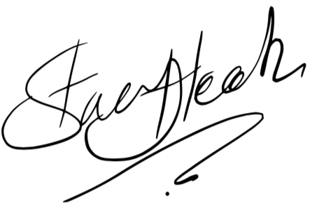 Signature of Stacey Heeks, General Manager of Abbots Grange